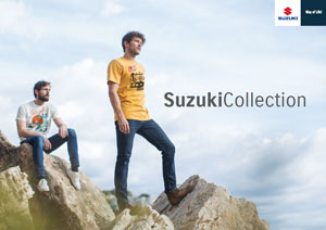 Modische Fashion und exklusive Merchandise-Artikel finden Suzuki Fans in der Suzuki Collection.