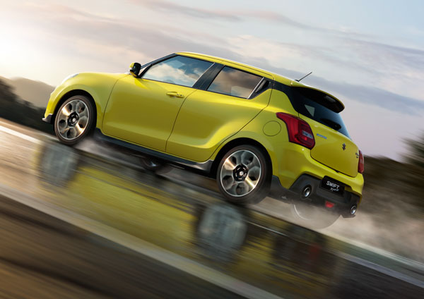 Suzuki SWIFT SPORT Action