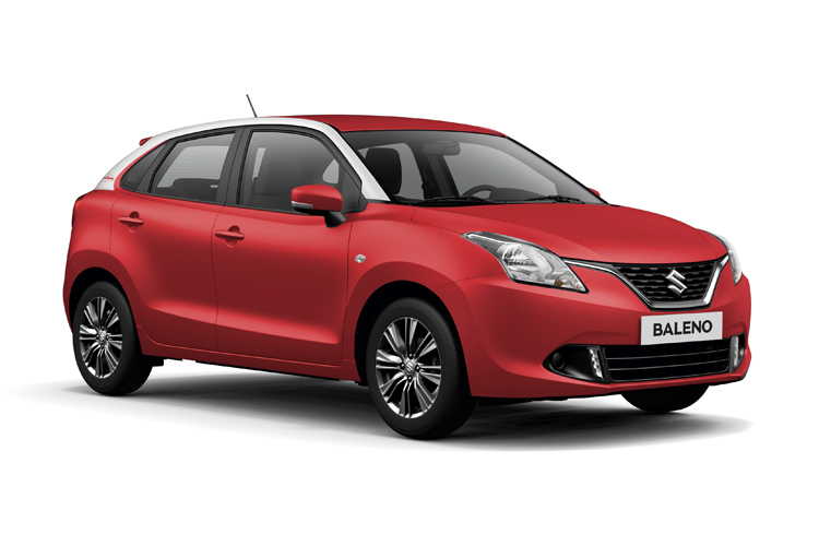 BALENO Shadowline Fire Red