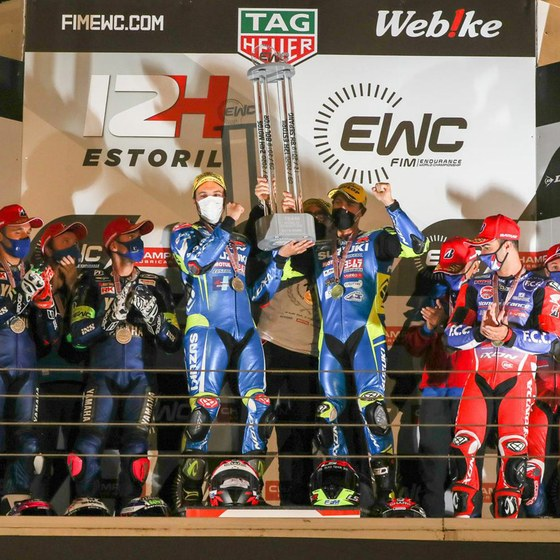 Suzuki holt sich den Endurance Weltmeisterschaftstitel bei der vierten und letzten Runde der EWC 2020 in Estoril, Portugal. Es ist der 16. Gesamtsieg des Suzuki Endurance Racing Teams.